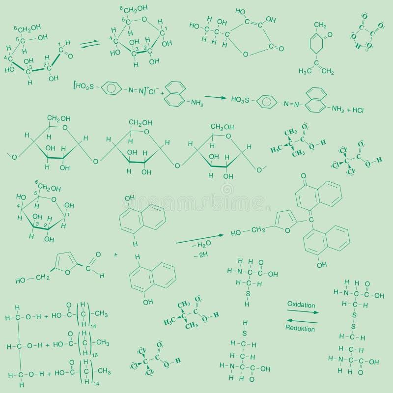 Background_green_chemical бесплатная иллюстрация