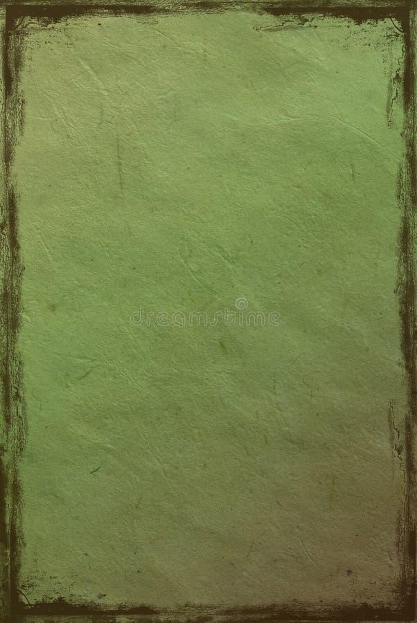 Download Background Green Crushed Paper Stock Illustration - Image: 10024855