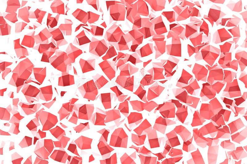 Red and green Background geometry wall stock photos