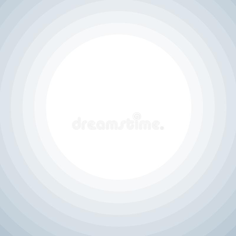 Background with grey circles vector illustration