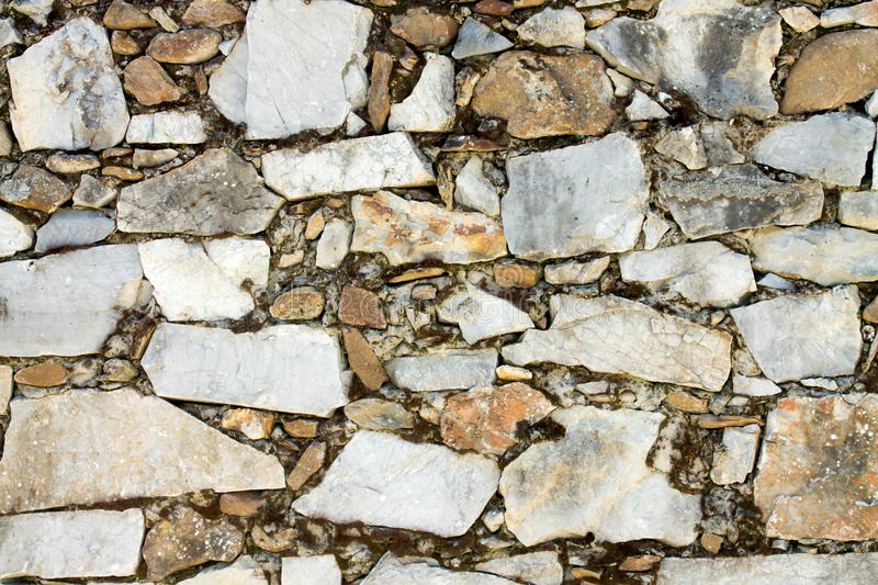 Background of grey stone wall stock photos