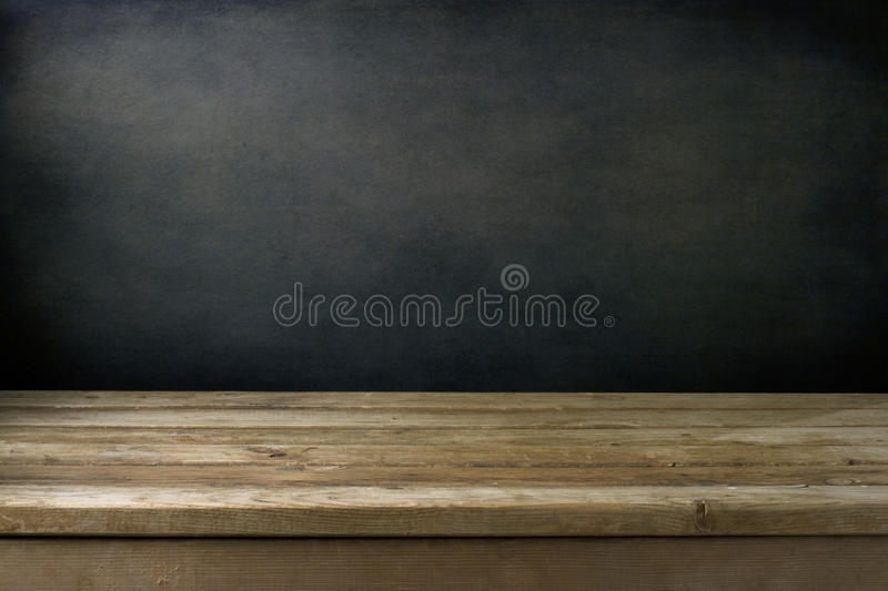 Background with grunge black wall royalty free stock images