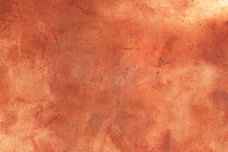 Background. Grunge background from sheet metal of copper stock images
