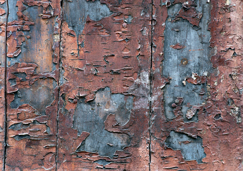 Download Wooden Wall With Flaking Paint Stock Photo - Image: 29783996