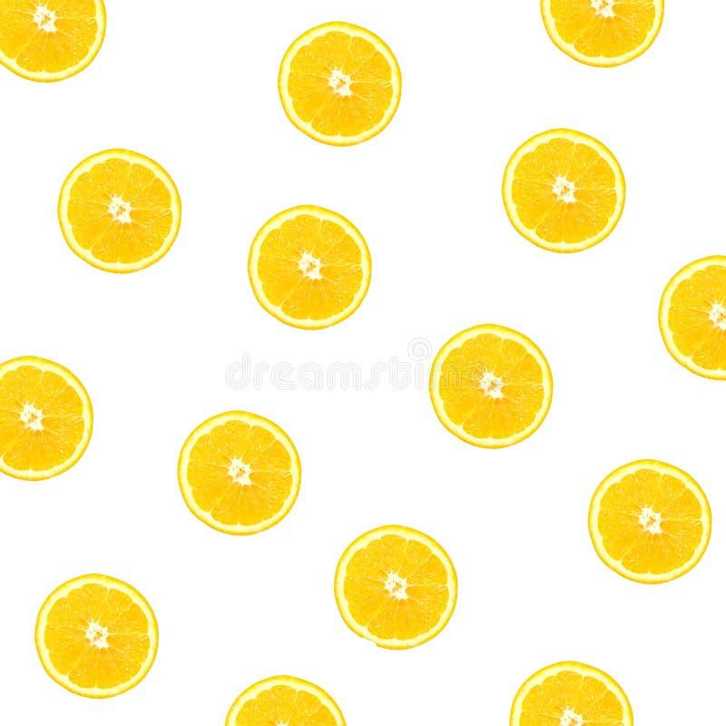 Background of half cut oranges. orange slices on white royalty free stock images