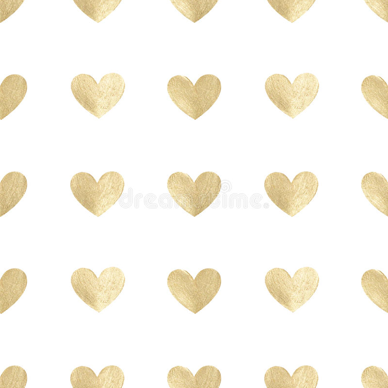 Background with hand-painted white pearly hearts, seamless pattern. Background with hand painted white pearly hearts, seamless pattern stock photo