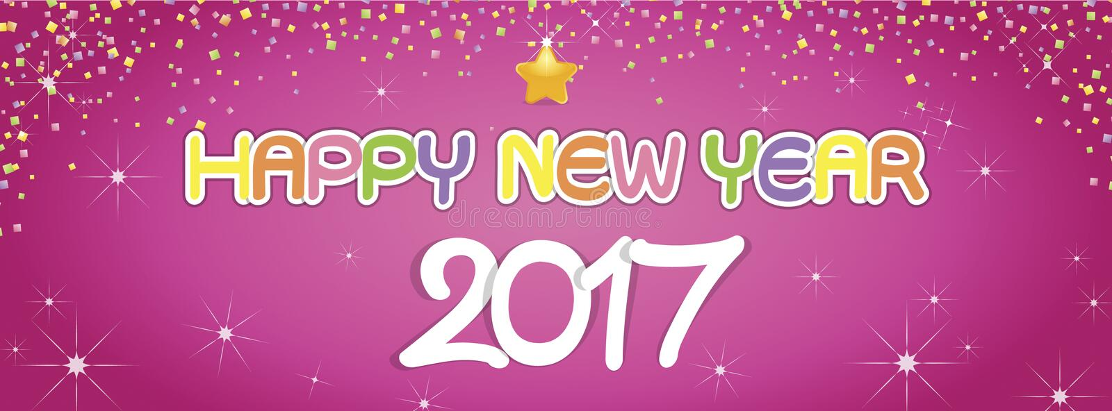 Background Happy New Year greetings royalty free stock images