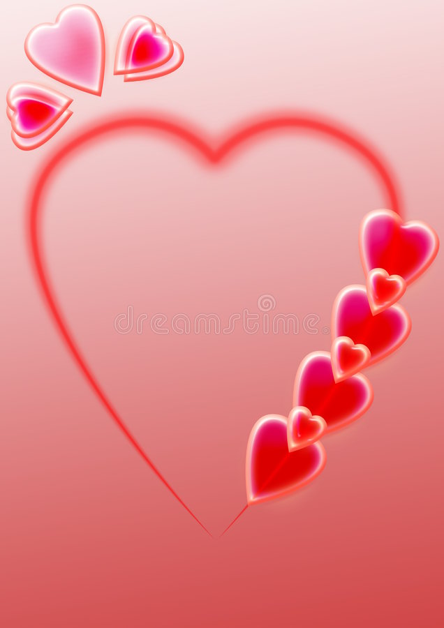 A background is a heart stock images