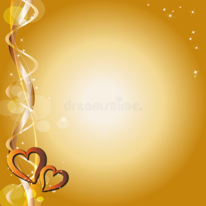 background hearts διανυσματική απεικόνιση