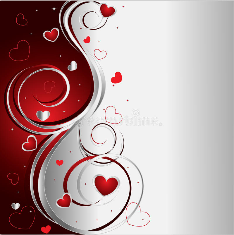 Download Background With Hearts Royalty Free Stock Photo - Image: 9806925