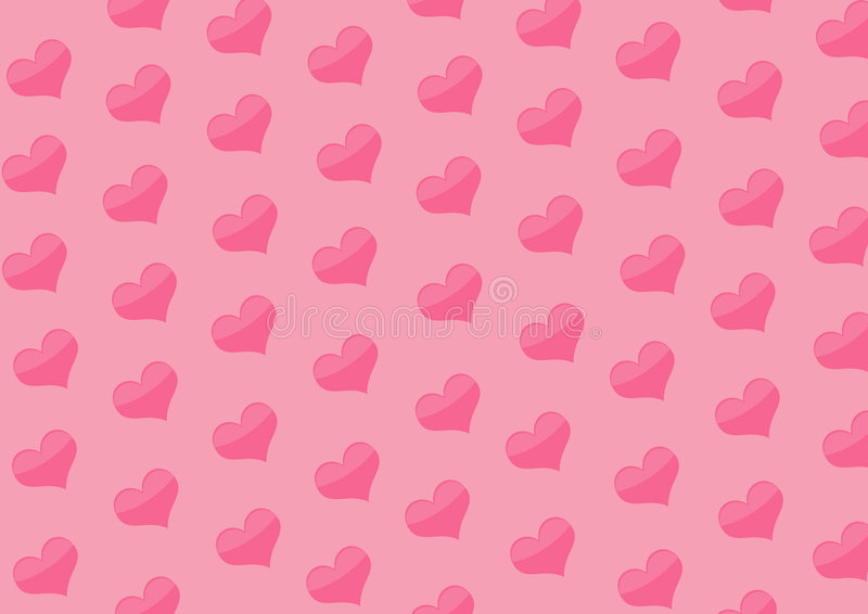 Download Background With Hearts Of Pink Color Stock Illustration - Image: 3939629