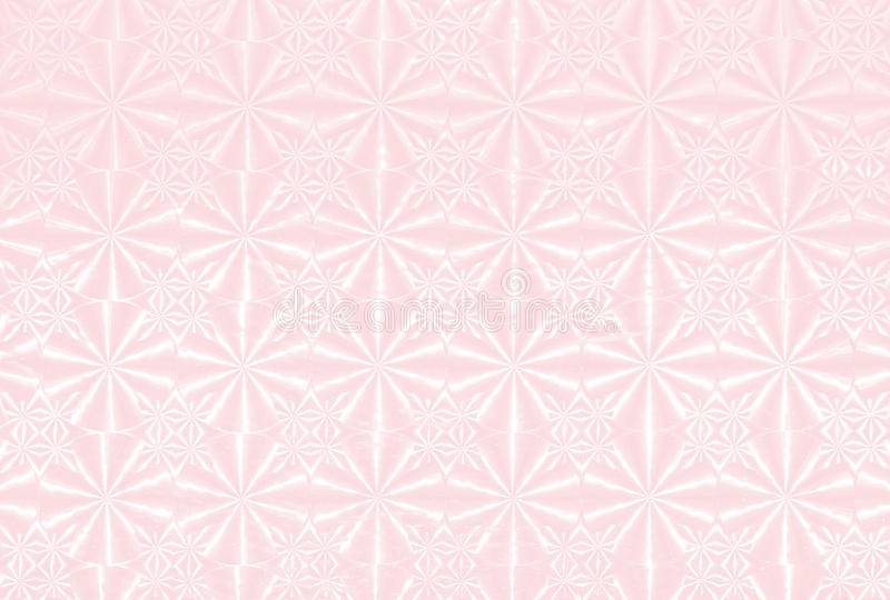 Background with holographic pattern light pink. Holographic pattern light pink, background design stock illustration