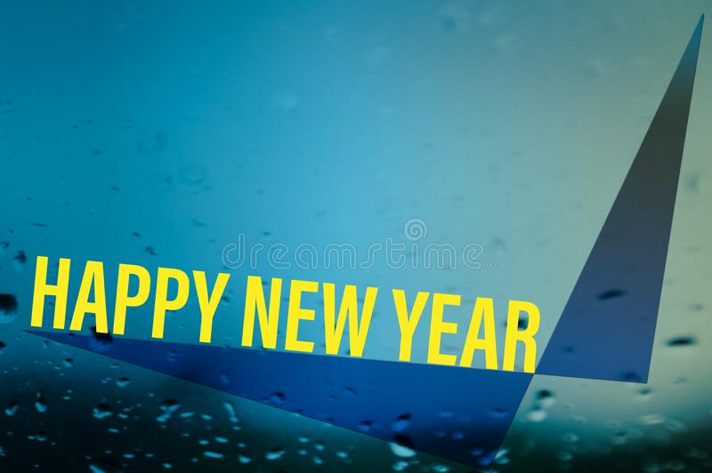 Background of illustration design happy new year royalty free stock photos