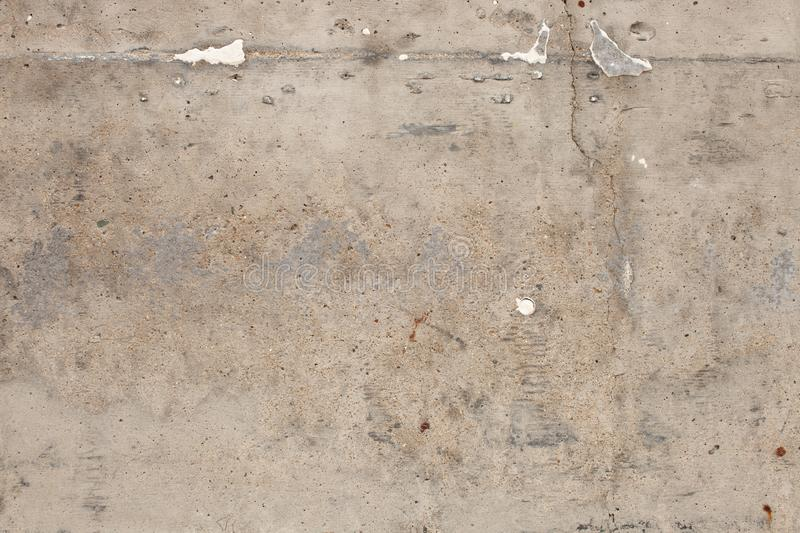 The texture of the old concrete slab stock photo