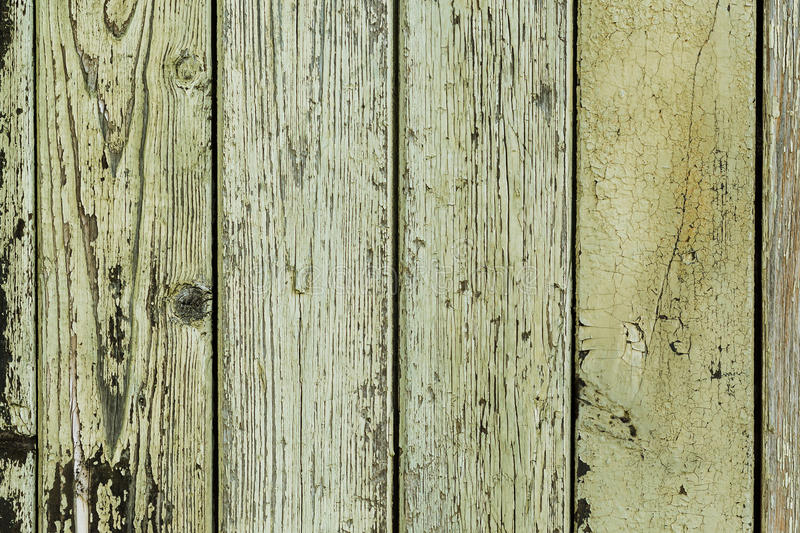 Background image of old yellow wood boards. Texture, background. royalty free stock photography