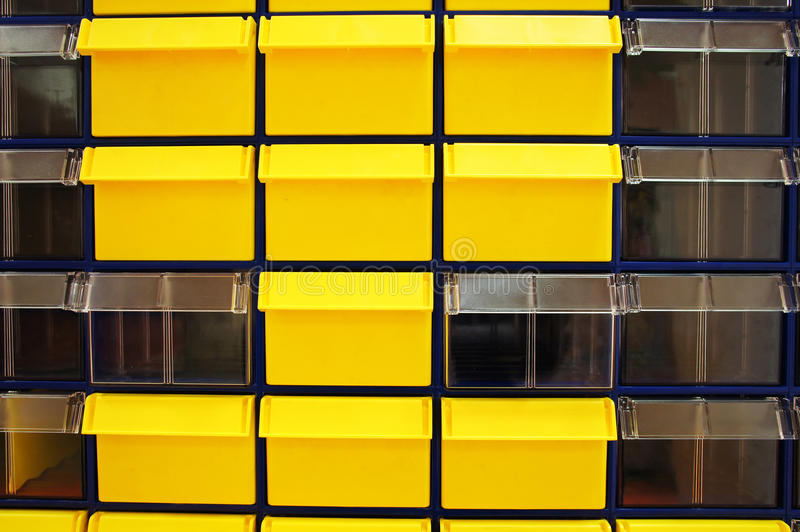 Background with the image of a storage boxes stock images