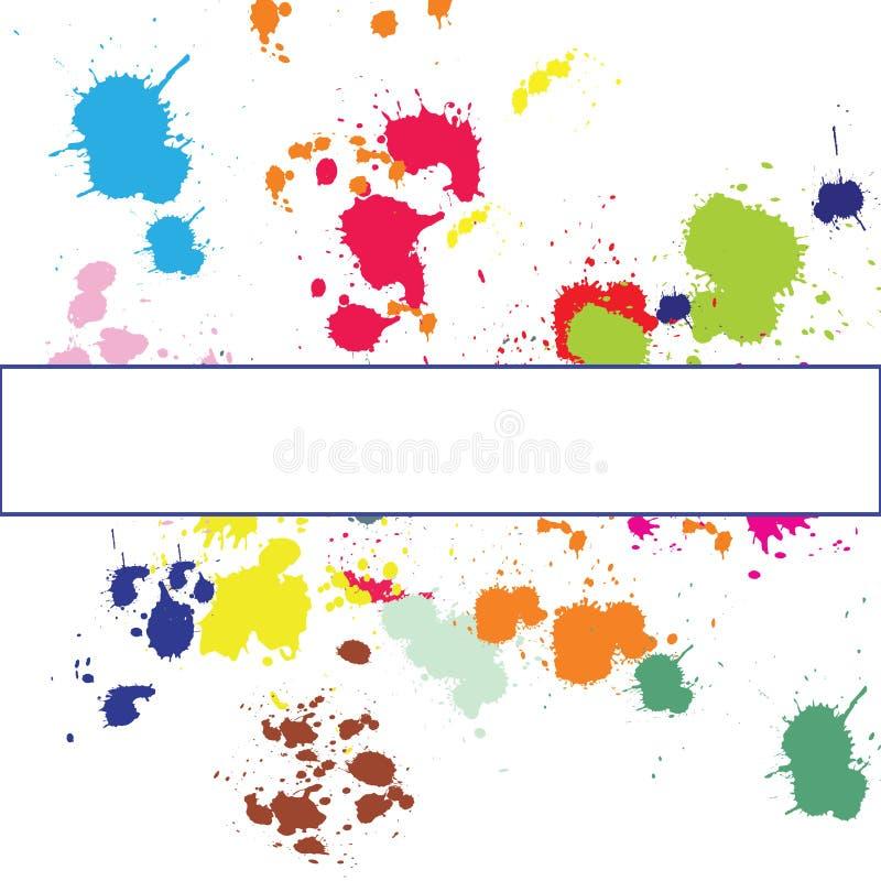 Download Background with ink spots stock illustration. Image of splash - 14003757