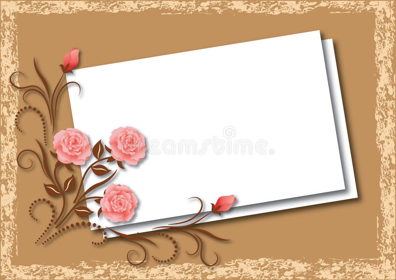 Background for an insert of the text vector illustration