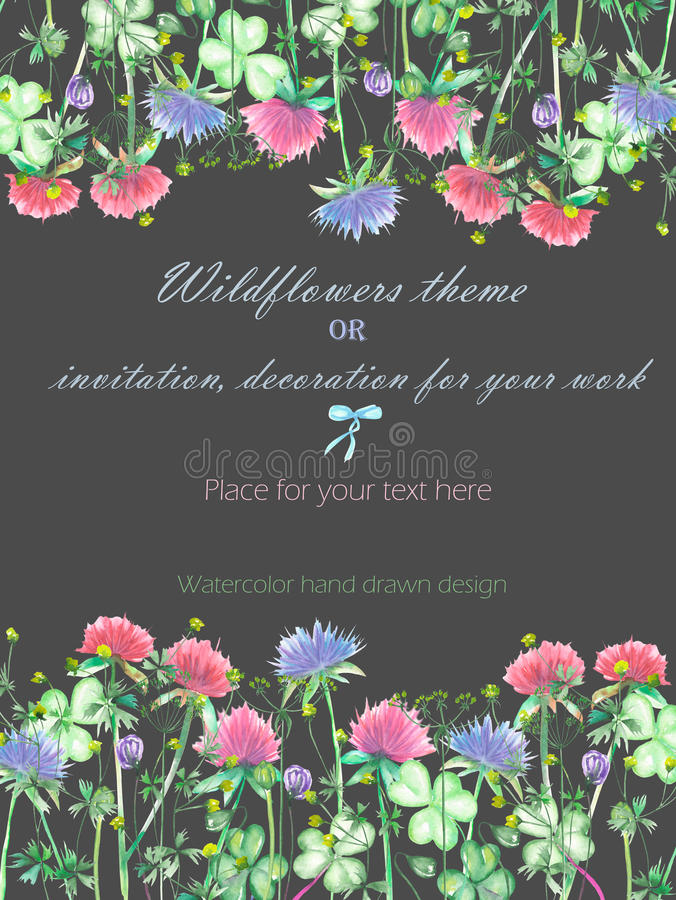 Background, Invitation Card, Template Postcard With The Yellow ...