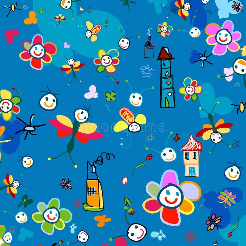 Background for kids vector illustration