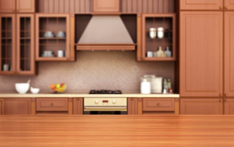 Background of kitchen vector illustration
