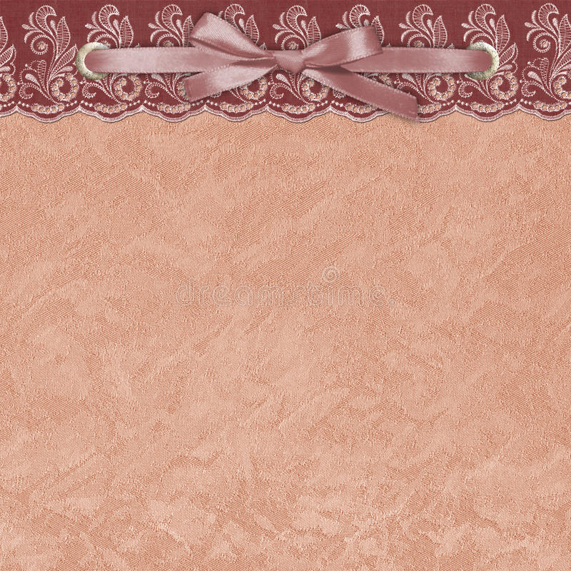 Download Background With A Lace. Textile. Stock Illustration - Illustration of abstract, decor: 10304820