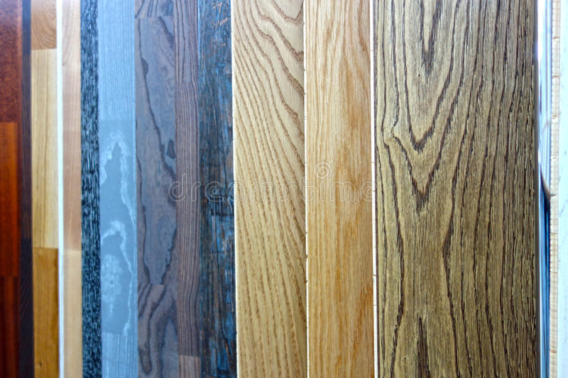 Background of laminate panels. Background of various laminate panels. Construction Materials stock images