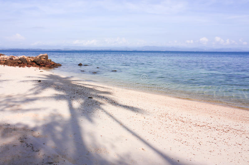 Download Beach and sea stock photo. Image of paradise, sunshine - 30007642