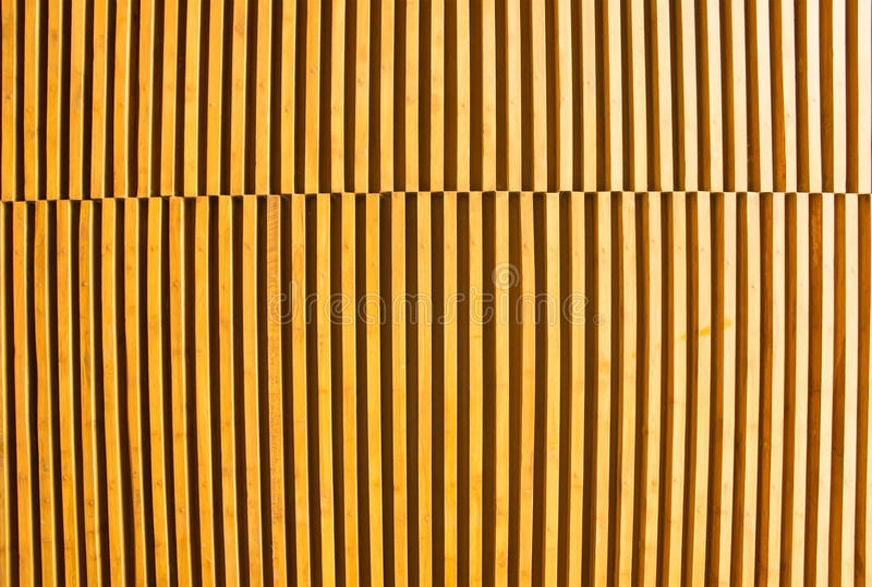 Background lath. The Background slat arrangement beautiful stock photo
