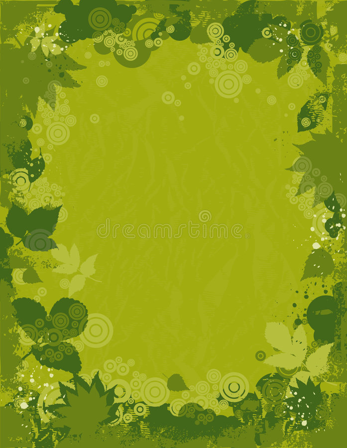 Download Background Of Leafs, Vector Stock Vector - Image: 2838720