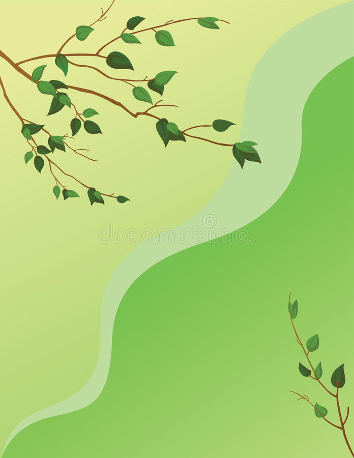 Download Background leaves stock vector. Illustration of isolated - 17655173