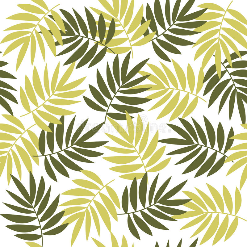 Background leaves royalty free illustration