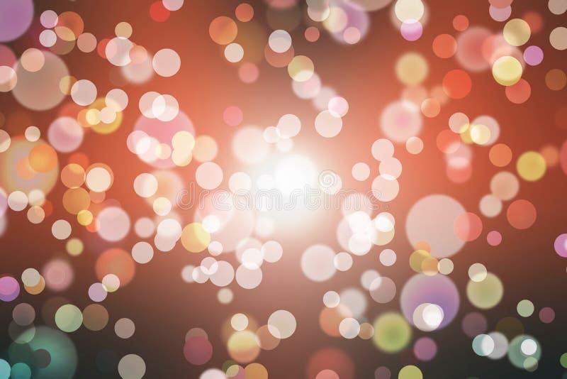 Background light bokeh abstract glitter,  night gold vector illustration