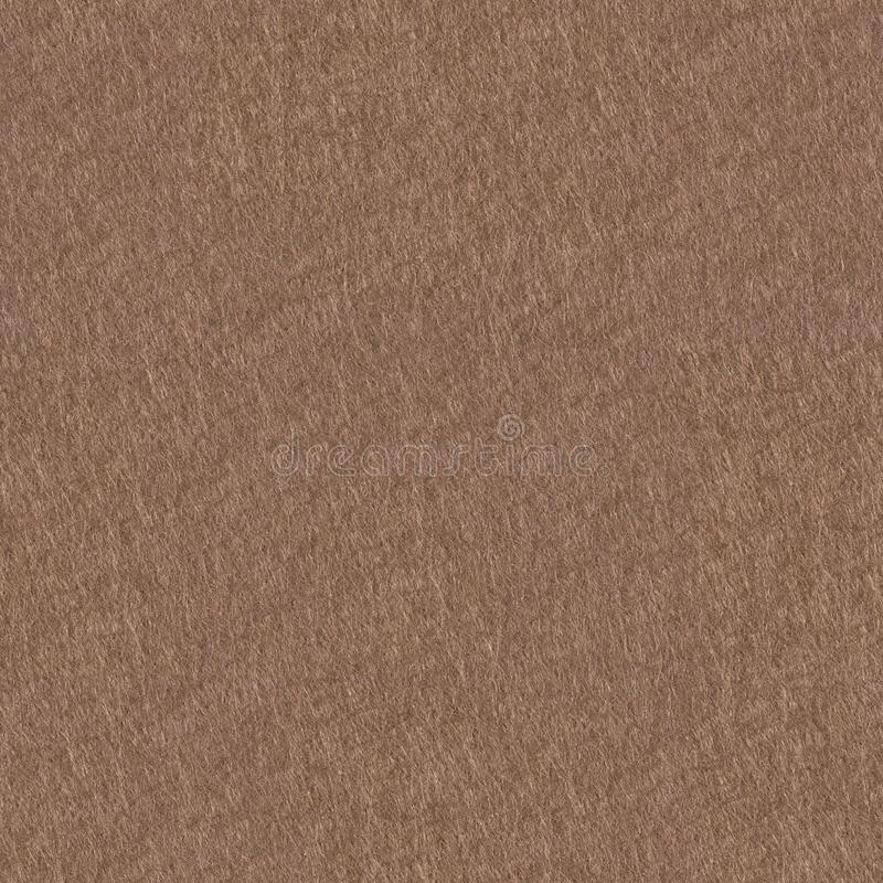 Background of light brown felt. Seamless square texture, tile ready. High resolution photo stock photo