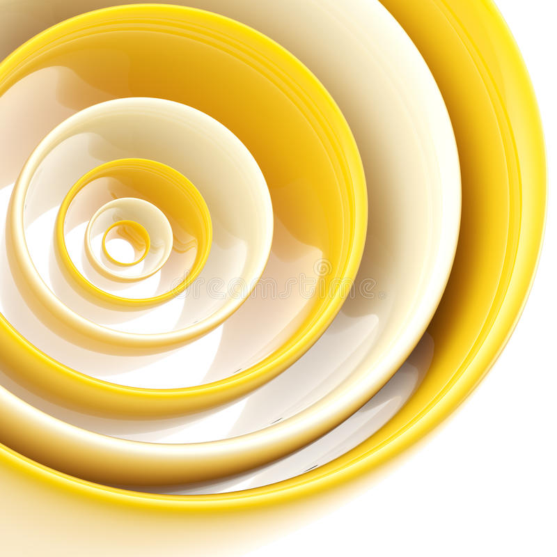 Background made of abstract plastic circles royalty free illustration