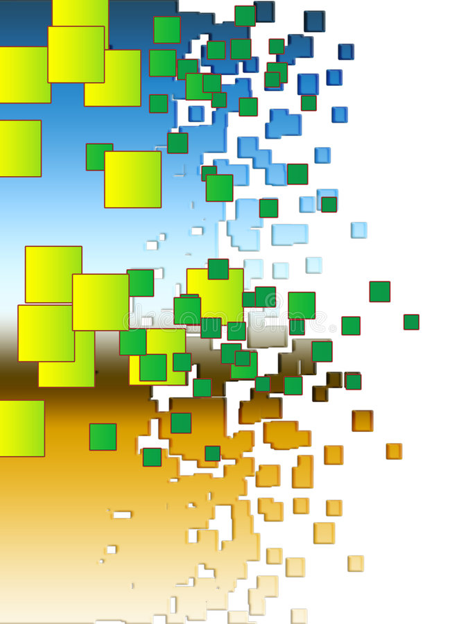 Download Background Made Out Of Lots Of Squares Stock Illustration - Illustration: 5470233
