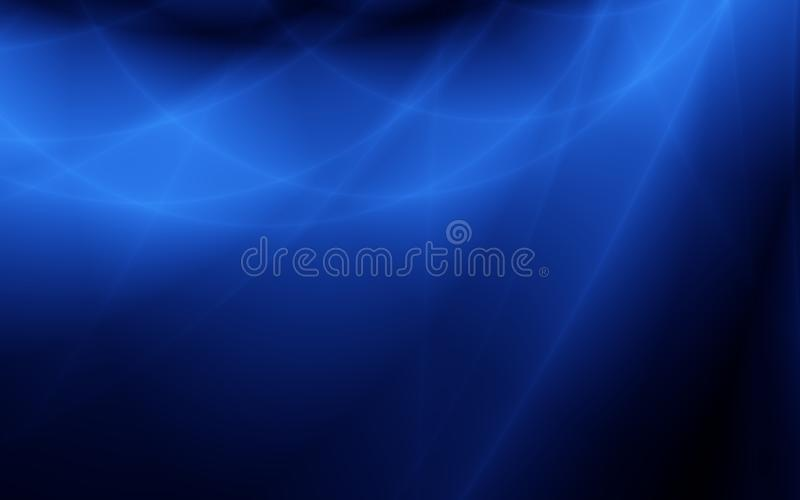 Lightning blue unusual simple backdrop royalty free illustration