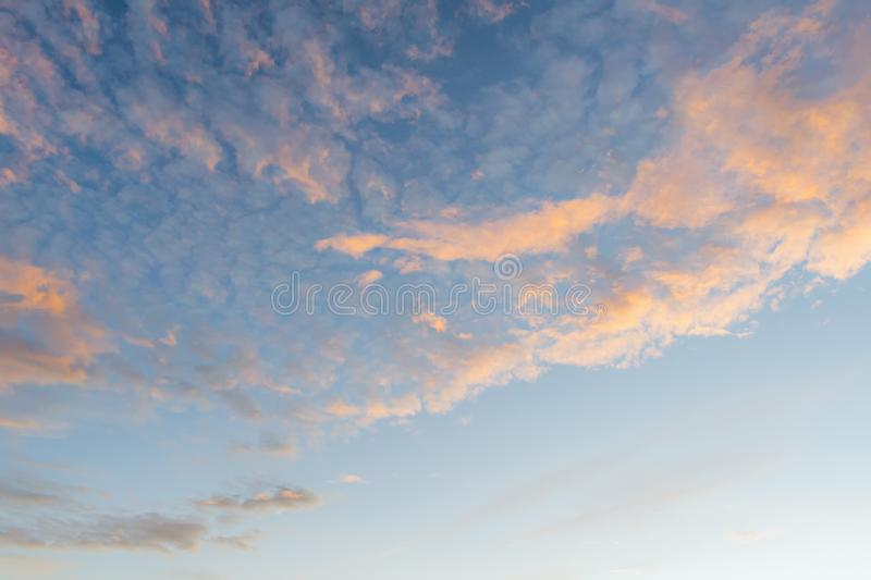 Background with magic of the sky and clouds at dawn part 24 stock photos