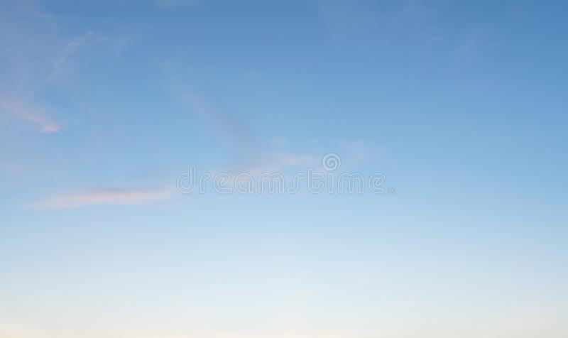 Background with magic of the sky and clouds at dawn and twilight part 17 stock photography