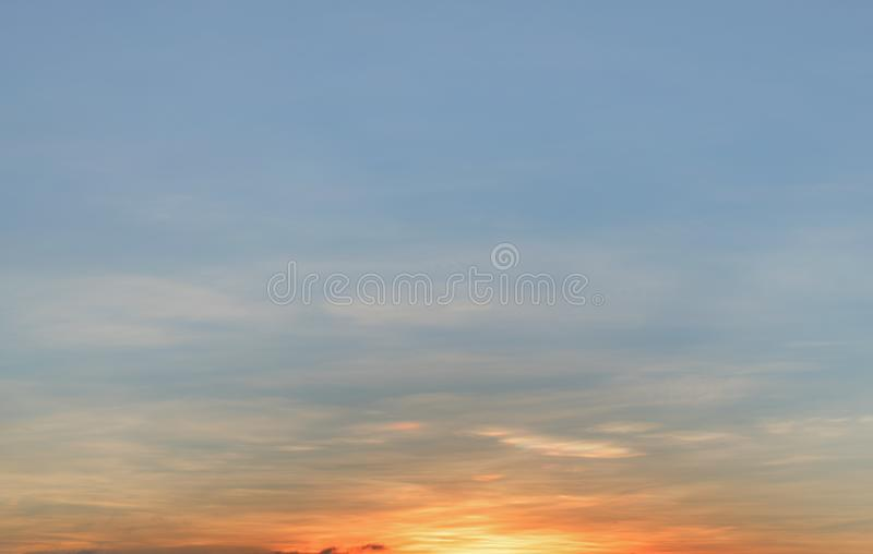 Background with magic of the sky and clouds at dawn and twilight part 7. Background with magic of the sky and clouds at dawn and twilight. Photo use for graphic stock photo