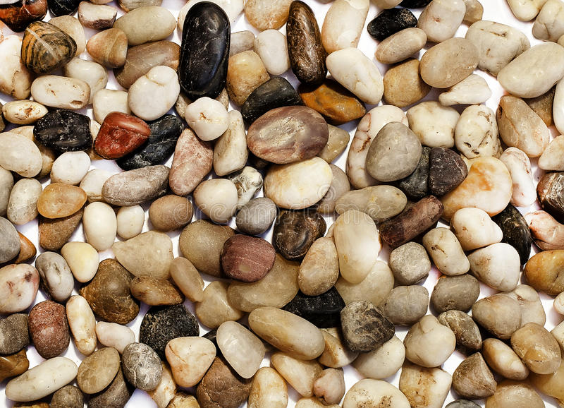 Download Background With Many Different Colored Stones Stock Image - Image: 48351023