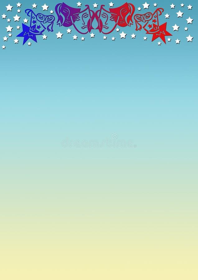 Download Background masks stock illustration. Illustration of colors - 5665602