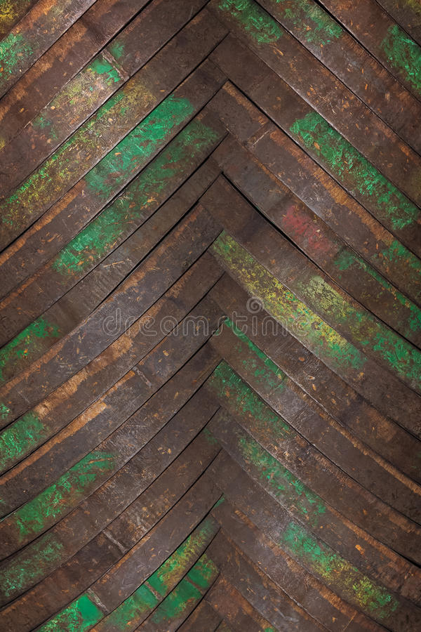 Background from metal hoops for wooden barrels stock photography