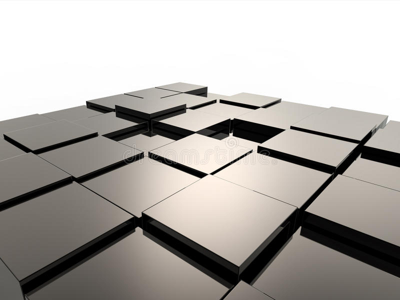 Download Background From Metallic Cubes Stock Images - Image: 25079064
