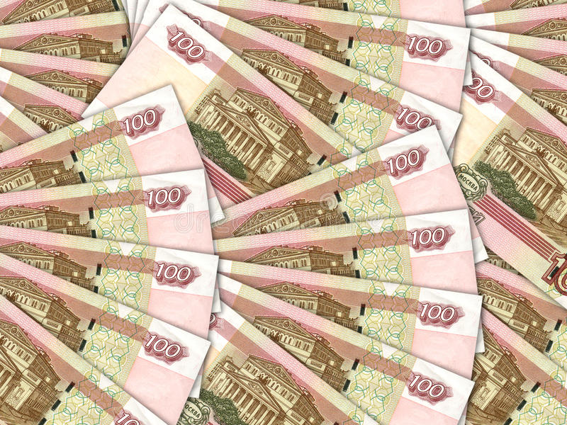Download Background Of Money Pile 100 Russian Rouble Bills Stock Image - Image: 23136617