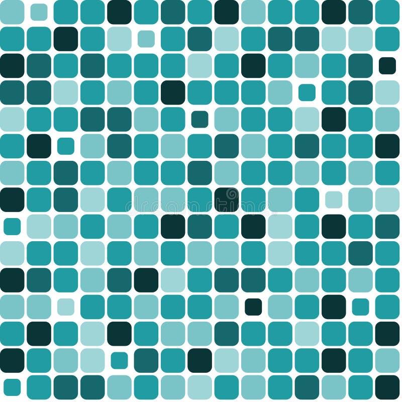 Background mosaic sea vector illustration