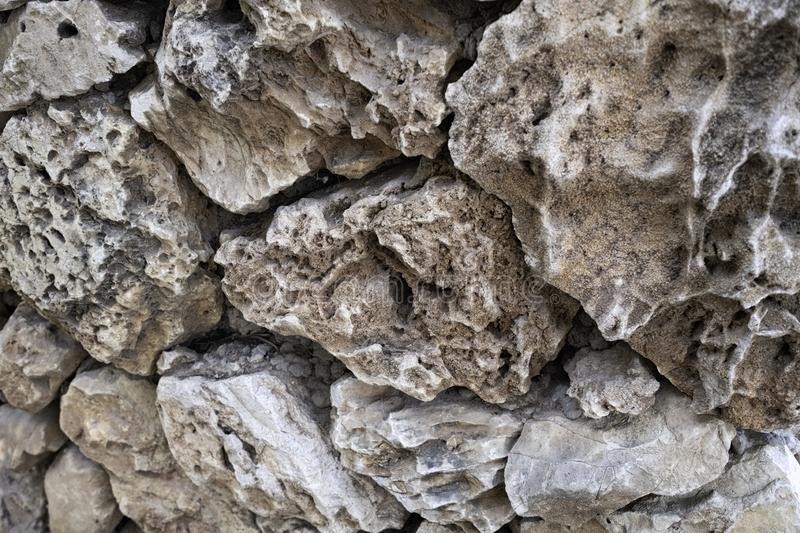 Background of mountain stones. The surface of the stones. Rock texture royalty free stock photos