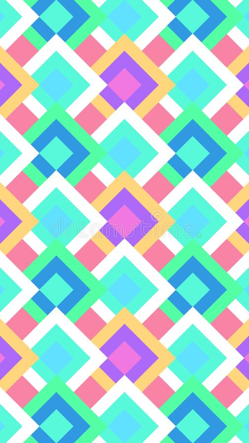 The background of the multi-colored rhombic. Suitable for the background of mobile phones. Vector vector illustration