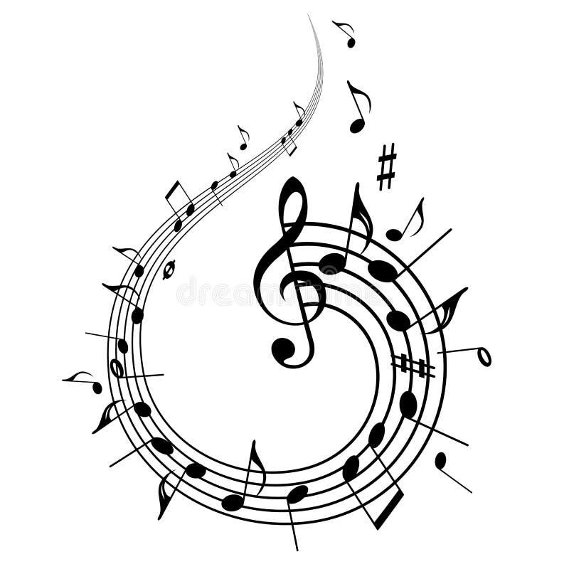 Background Music vector illustration