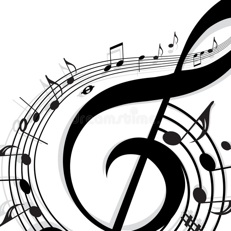 Background Music stock images